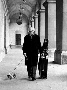 Mstislav Rostropovich, Munich byWerner Neumeister, 1976