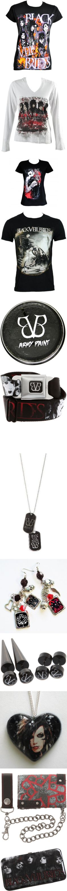 """Black Veil Brides Merch"" by onedirectionlover99-872 ❤ liked on Polyvore"