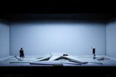Stagedesign for DIE WALKÜRE, for Staatstheater Karlsruhe, Germany Stagedesign by Sebastian Hannak