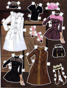 (⑅ ॣ•͈ᴗ•͈ ॣ)                                                            ✄Metallic Moment Paper Doll