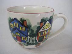 Ivy Hill Collections Welcome Home Indigo Gate Coffee Mug