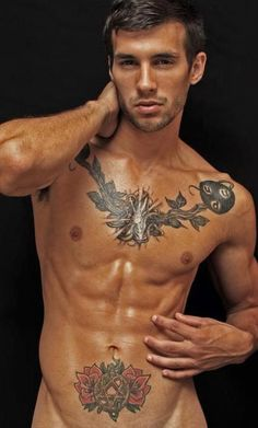 Is it the tats or him or both?! :)