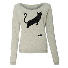 CAT & MOUSE Sweatshirt by Kin Ship Goods