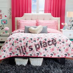 Twin and Full and Queen Love Comforter Set #VNG