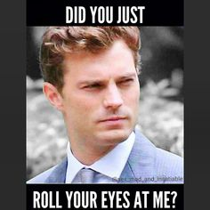 I did!!! and what would You do with that Mr Grey? :P  #ChristianGrey