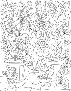 magic in the garden colouring page by liltcoloringbooks garden coloring pages adult coloring pages