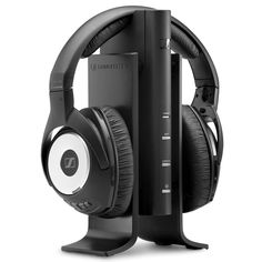 The Best TV Headphones - Hammacher Schlemmer - These are the wireless television headphones that dominated all others in every test conducted by The Hammacher Schlemmer Institute, from sound quality to range to comfort.