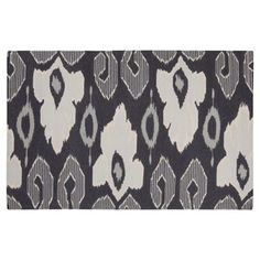 Check out this item at One Kings Lane! Casper Flat-Weave Rug, Ink
