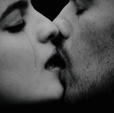 A kiss like this, so deep and heartfelt, shaking with emotion...hungry for each other.