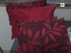 capa de almofada 35 x 50 com zíper jacquard suede amassado