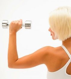 4 Übungen für schöne, straffe Arme With these 4 simple, very effective exercises you get the beautiful, toned arms that Fitness Workouts, Tips Fitness, Sport Fitness, Fun Workouts, Yoga Fitness, Quotes Fitness, Training Fitness, Strength Training, Pilates