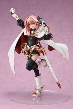 Fate/Grand Order - - Kuro no Rider - Amakuni & Hobby Japan (Okt - Statuen / PVC - Figuren - Japanshrine Astolfo Fate, Kill La Kill, Anime Traps, Battle Dress, Anime Figurines, Mode Shop, Anime Dolls, Fate Stay Night, Anime Manga