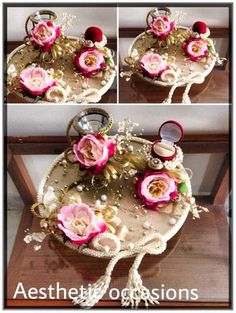 Photo From Ring trays & roka ceremonies - By Aesthetic Occasions Plan Your Wedding, Wedding Blog, Wedding Planner, Trousseau Packing, Diy Arts And Crafts, Christmas Bulbs, Wedding Inspiration, Trays, Holiday Decor