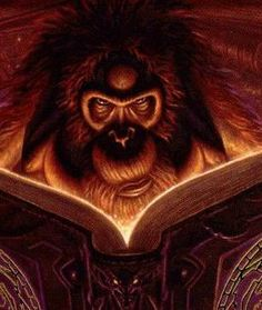 The Librarian of Unseen University Library, in Terry Pratchett's Discworld novels. I Love Books, Great Books, Books To Read, My Books, Library Humor, Library Quotes, Cthulhu Mythos, Terry Pratchett Discworld, Terry Pratchett Death