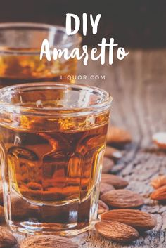 Homemade liqueurs are one of the easiest and most cost effective ways of extending your cocktail supplies. Most liqueurs are built from a base of vodka or whiskey and all they require is flavouring and patience! Here is your DIY guide to making your very own Amaretto!
