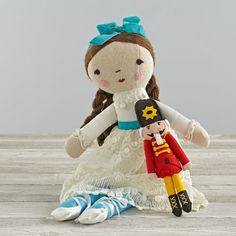 Wee Wonderfuls Clara Doll | The Land of Nod