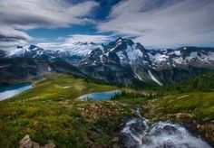 North Cascades, Washington Unbelievable views stretching across one of the most remote mountain paradises in the US, high in Washington's North Cascades photo by Marc Adamus Unforgettable Wilderness Photography Cascade National Park, North Cascades National Park, National Parks, National Forest, Beautiful Landscape Photography, Beautiful Landscapes, Nature Photography, Stunning Photography, Beautiful World