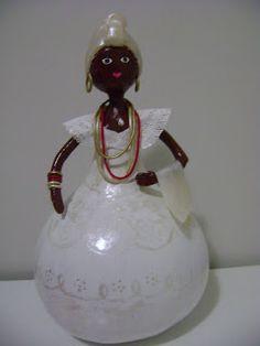 Bonecas de cabaça: Baiana