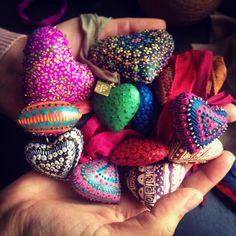 Corazones #azulmaya #joyeria #joyeriamexicana #jewelry #mexicanjewelry