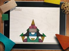 Bloki basic block building set that lets you defy gravity! Simple and beautiful.