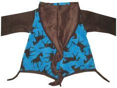 Fleece Zipfelpulli Pullover Pferde Gr.  86 - 92 von me Kinderkleidung und ersatzbezuege auf DaWanda.com