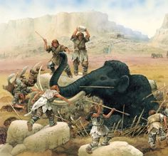 Neanderthal hunters