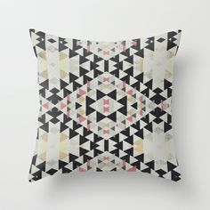 navajo Throw Pillow by SpinL - $20.00