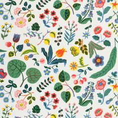 Textile Mille Fluers - Cotton, Mille Fleurs, Josef Frank | Svenskt Tenn