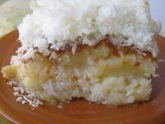 Bolo de coco molhado | Tortas e bolos > Receitas de Bolo de Coco | Receitas Gshow