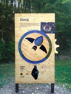 good spatial relationships with type and illustrations Plitvice Valleys by Studio Cuculić, via Behance Interactive Exhibition, Interactive Board, Interactive Display, Interactive Installation, Artistic Installation, Interactive Design, Zoo Signage, Wayfinding Signage, Signage Design