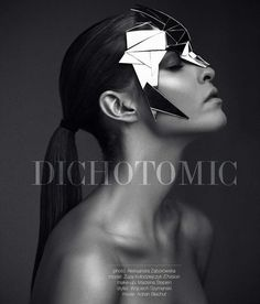 Dichotomic  - Geometry-infused headpieces, sharp shoulder accents and sculptural crowns are just some of the conceptual accessories featured in the 'Dichot...