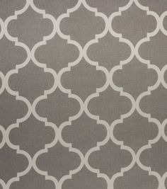 Home Décor Upholstery Fabric - Bishop Grey
