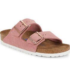 02466bd25 Birkenstock Arizona Suede Sandals Sapatos, Roupa Birkenstock, Birkenstock  Arizona, Sandálias De Camurça,