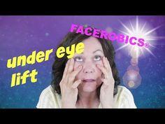 Get Rid of Eye Bags | Remove Dark Circles Under Eyes | Reduce Puffy Eyes | FACEROBICS® - YouTube