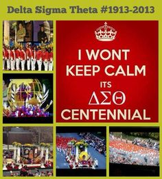Delta Sigma Theta Makes History as First African American Greek Organization in Rose Bowl Parade - Pasadena, CA. ΔΣΘ! #DST100 #RedAlert