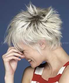 short+hairstyles+-+short+spiky+hairstyle+for+women