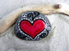 Rock Solid Love / Painted Rock /Sandi Pike by LoveFromCapeCod, $22.00