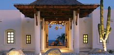 Love the star lights to remind us of our honeymoon at Las Ventanas al Paraiso