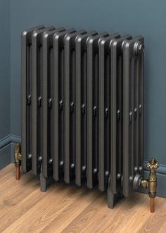 Adorable The Clasico high quality cast iron radiator is available in a vast variety of colours ready to complement a traditional Victorian style interior. The post Clasico appeared first on Interior Designs . Black Radiators, Old Radiators, Electric Radiators, Column Radiators, Cast Iron Radiators, Heating Radiators, Horizontal Radiators, Victorian Radiators, Painted Radiator