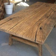 Salontafel oud hout Lijn M