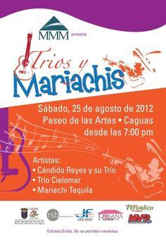 Tríos y Mariachis @ Paseo de las Artes, Caguas.