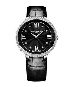 La montre Promesse de Baume & Mercier http://www.vogue.fr/joaillerie/le-bijou-du-jour/diaporama/la-montre-promesse-de-baume-mercier/19892