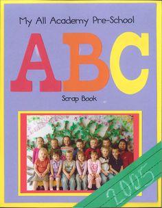pre-school scrapbook