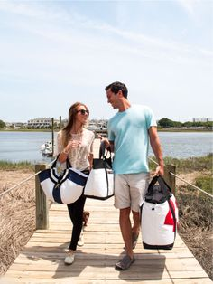 Bags made from recycled yacht sails