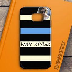 Harry Styles One Direction Cool Photo Samsung Galaxy S6 Edge Case | casefantasy