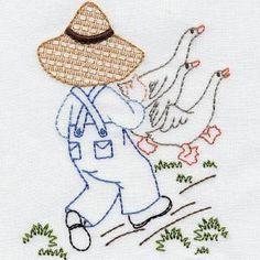 DENIM DAN - Aunt Marthas Machine Embroidery | OregonPatchWorks
