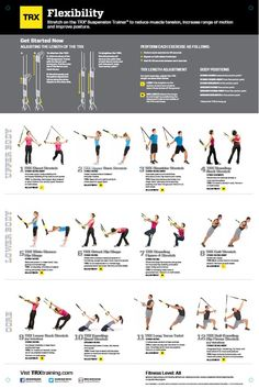 trx exercises | TRX All Body Workout stretching tips, flexibility