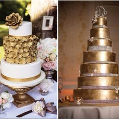 Gold cakes!