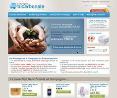www.compagnie-bicarbonate.com  boutique magento dédié au bicarbonate sous toutes ses formes