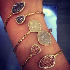 Marcia Moran Detailed Bangle Bracelet (More Colors Available)